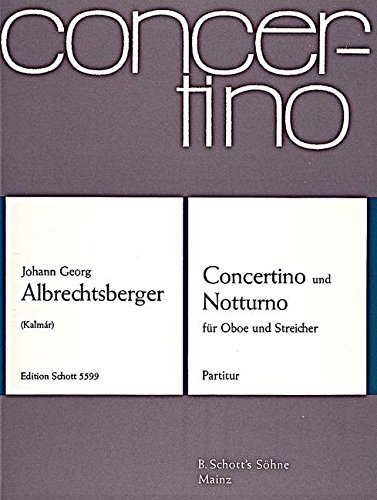 9780001116825: Concertino G Major and Nocturne C Major