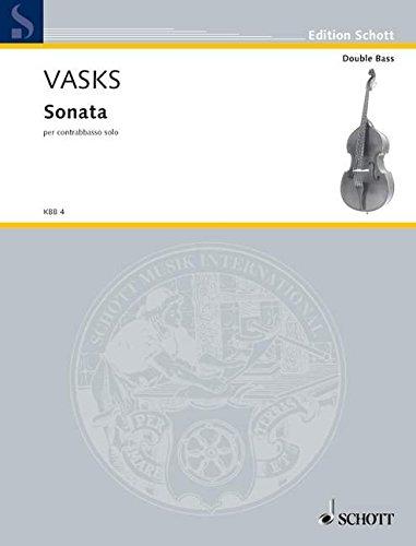 9780001127708: Vasks: Sonata for Solo Double Bass