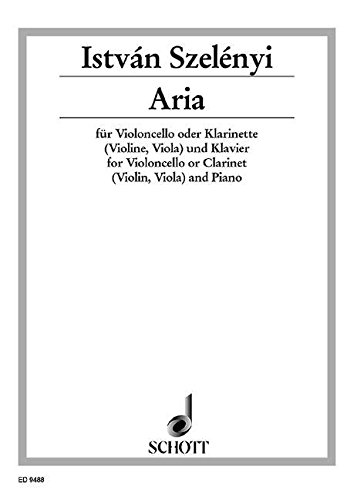 9780001132481: Aria - Cello [Violin, Viola] or Clarinet [Alto Saxophone] and Piano - Book