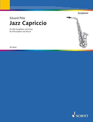 9780001134669: P�?tz: Jazz Capriccio (Alto/baritone Saxophone & Piano)