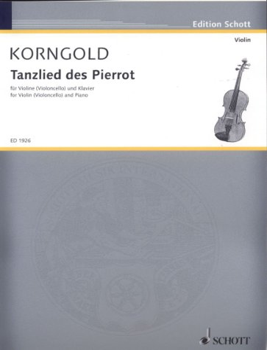 9780001137905: Tanzlied des Pierrot op. 12 (aus der Oper