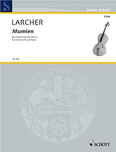 9780001139084: Larcher: Mumien (2001/02) for Cello & Piano