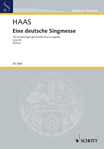 9780001143074: Eine deutsche Singmesse op. 60