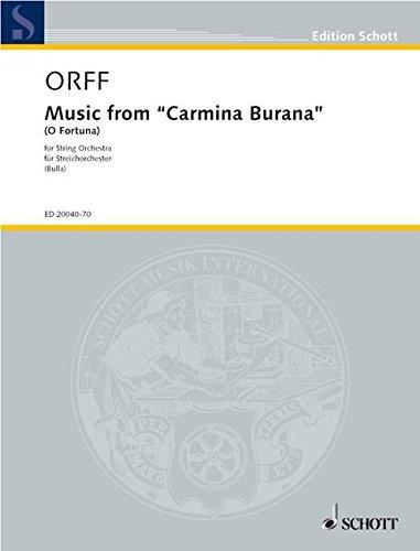 9780001145641: Music from Carmina Burana (O Fortuna)
