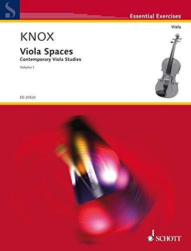 9780001156876: SCHOTT KNOX GARTH - VIOLA SPACES VOL.1 - ALTO Educational books Viola