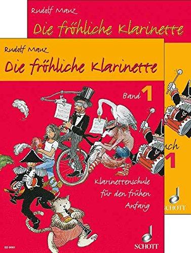 9780001170377: Die fröhliche Klarinette Band 1 und Spielbuch 1