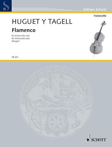 9780001170599: Tagell: Flamenco, from Suite espagnole No. 1 (Cello Solo)