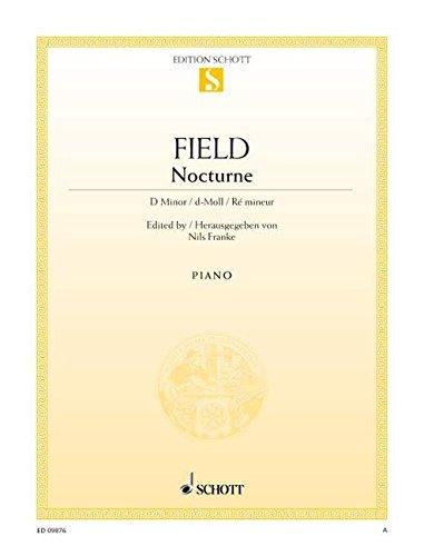 9780001172852: Field: Nocturne D minor (Piano Solo)