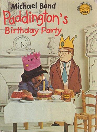 9780001232075: Paddington's Birthday Party (Colour Cubs)