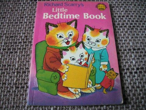 Little Bedtime Book (Colour Cubs): Scarry, Richard