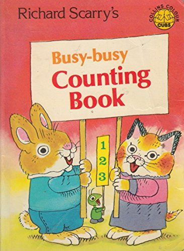 9780001232730: Busy Busy Counting Book (Colour Cubs)