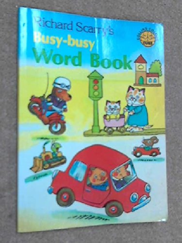 9780001232822: Busy Busy Word Book (Colour Cubs)