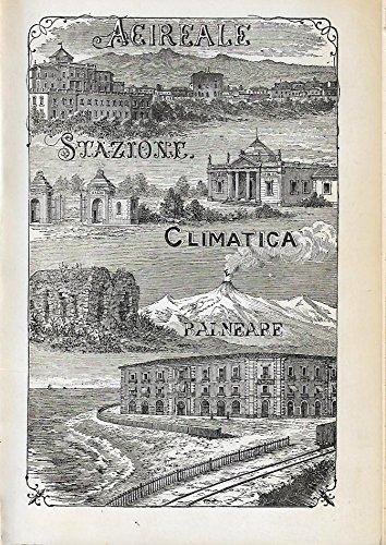 9780001277809: acireale stazione climatica balneare le terme di santa venera 1873 - 1973