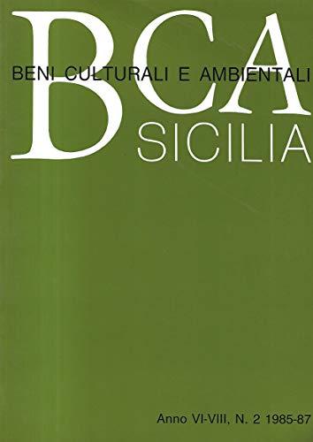 9780001280281: B. C. A. Sicilia anno vi - viii n.1 1985 - 87