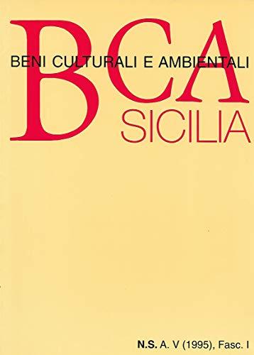 9780001280304: B. C. A. Sicilia N. S. S. V 1995 FASC. II