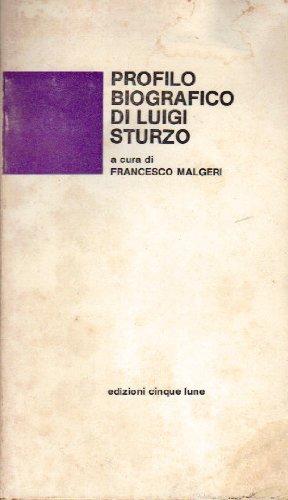 9780001289260: Profilo Biografico Di Luigi Sturzo