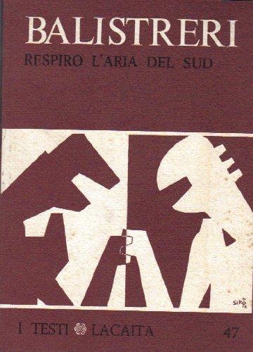 9780001292710: RESPIRO L' ARIA DEL SUD