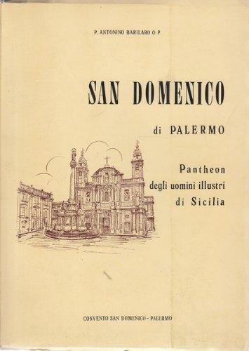 9780001296206: San Domenico Di Palermo - Pantheon Degli Uomini Illustri Di Sicilia