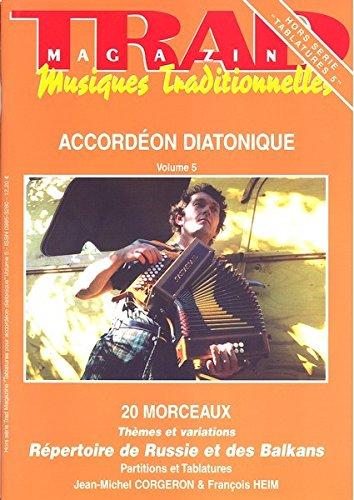 9780001313002: Trad Magazine - Musiques traditionnelles : Hors série Tablatures 5 - Accordéon diatonique Volume 5