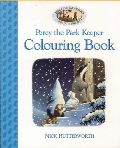 9780001360419: Percy the Park Keeper: Colouring Book