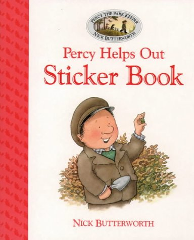 9780001360426: Percy the Park Keeper - Percy Helps Out Sticker Book (Picture Lions)