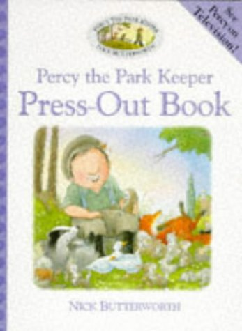 9780001360518: Percy the Park Keeper - Press-Out Book