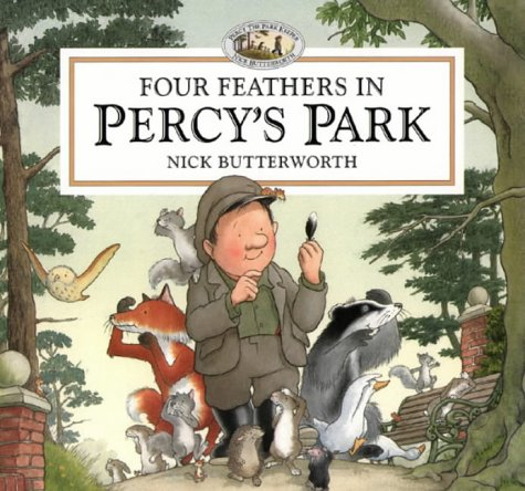9780001360686: Four Feathers in Percy's Park: A Novelty Pop-up (Percy the Park Keeper)