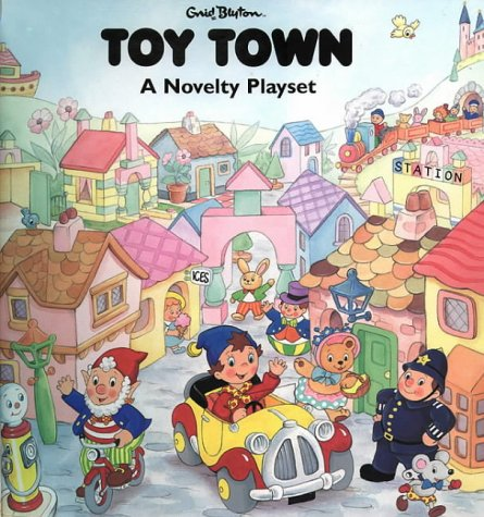 9780001360709: Toy Town - a Novelty Playset