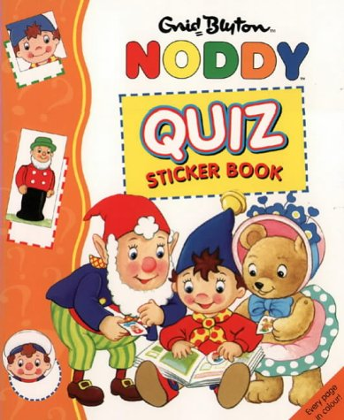 9780001360792: Noddy Quiz Sticker Book