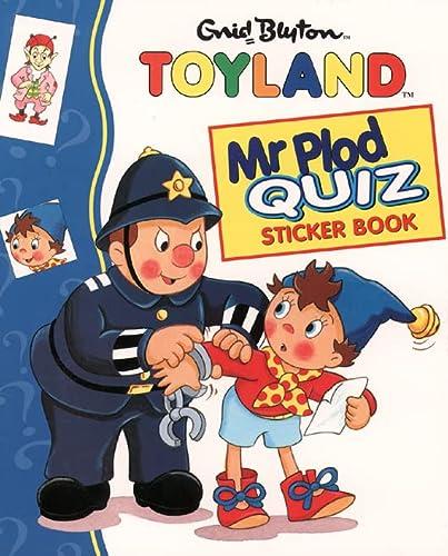 9780001361010: Mr Plod Quiz Sticker Book (Noddy)