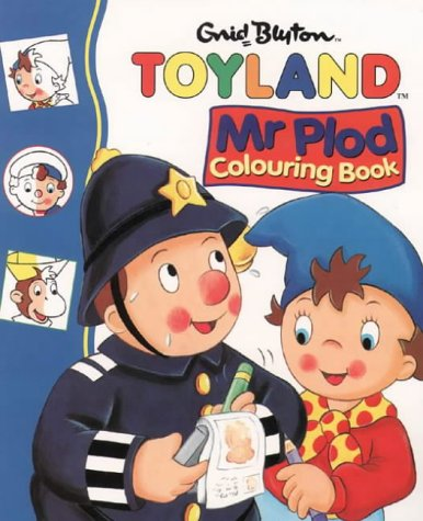 9780001361041: Mr Plod Colouring Book (Noddy)