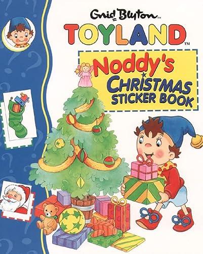 9780001361072: Noddy Christmas Sticker Book
