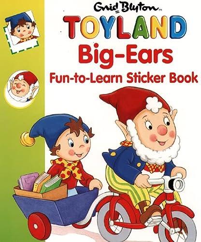 9780001361089: Big-Ears Fun-to-Learn Sticker Book (Noddy)