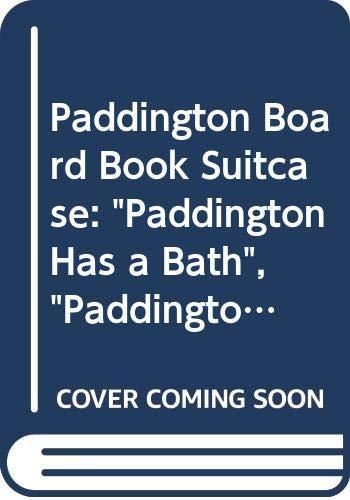 9780001373877: Paddington Board Book Suitcase: