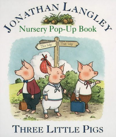 9780001374393: Nursery Pop- Up Book - Three Little Pigs (Collins Baby & Toddler)