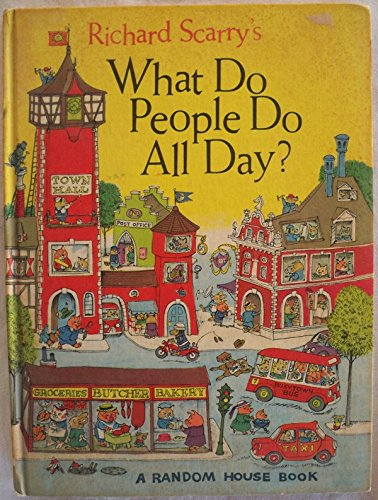 9780001381483: What Do People Do All Day?