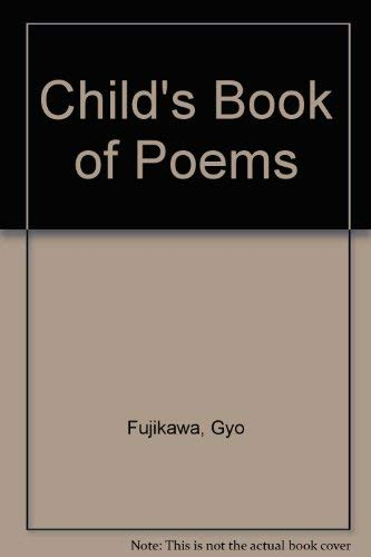 9780001381643: A Child's Book of Poems