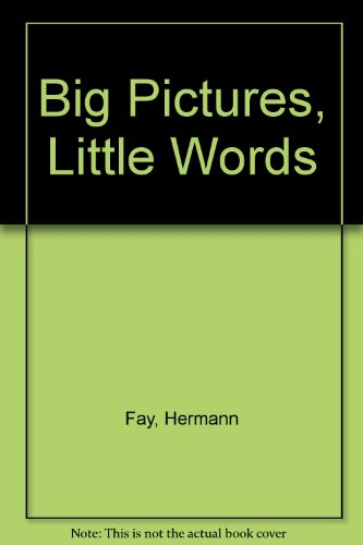 9780001381865: Big Pictures, Little Words
