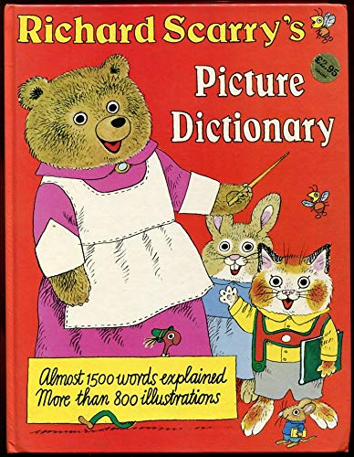 Richard Scarry's Picture Dictionary: Scarry, Richard