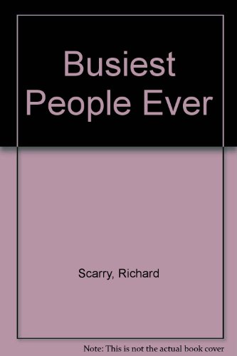 9780001382237: Busiest People Ever