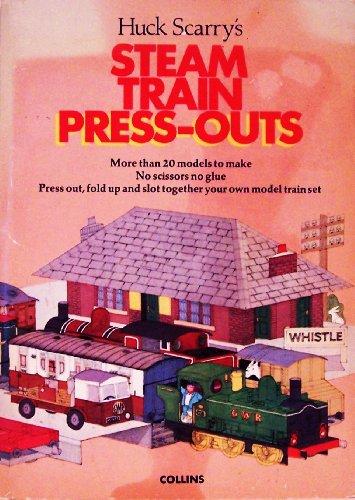 9780001382558: Steam Train Press-outs