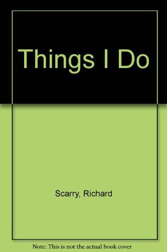 9780001383395: Things I Do