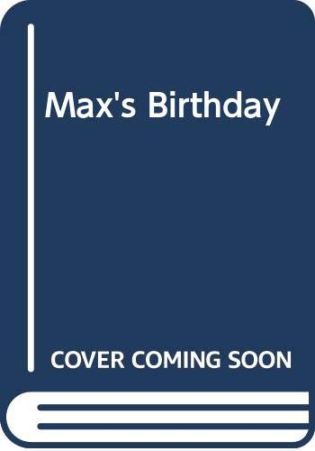 9780001384309: Max's Birthday (Max and Ruby board books)