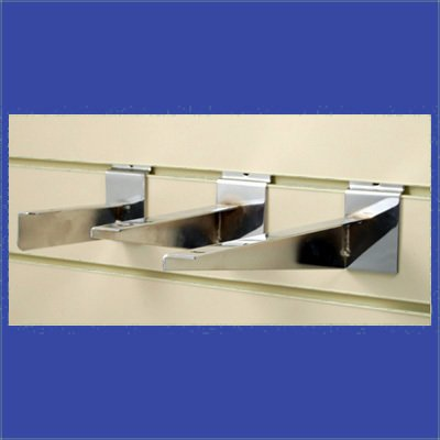 9780001412354: Slatwall Shelf Brackets