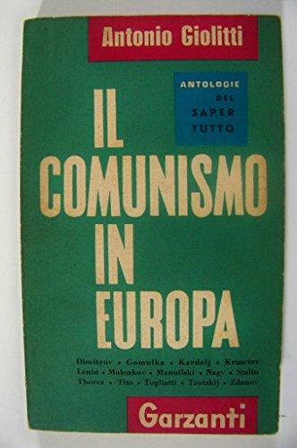 9780001433038: Il Comunismo In Europa