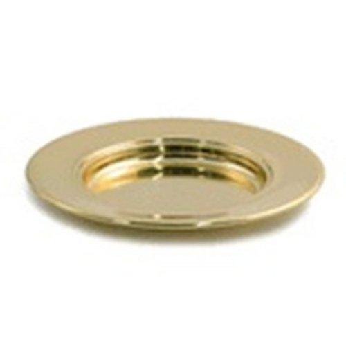 9780001529212: Solid Brass Bread Plate