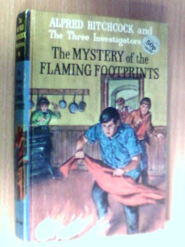 9780001600157: Mystery of the Flaming Footprints (Alfred Hitchcock Books)