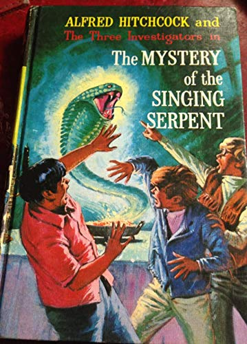 9780001600195: Mystery of the Singing Serpent (Alfred Hitchcock Books)