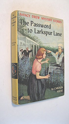 9780001604124: Password to Larkspur Lane (Nancy Drew mystery stories / Carolyn Keene)