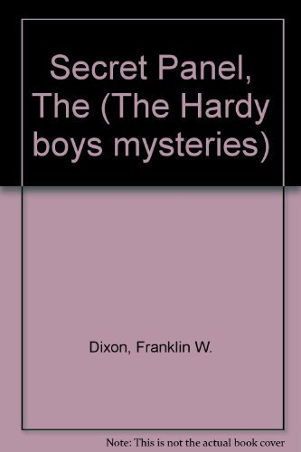 9780001605541: Secret Panel (The Hardy boys mystery stories)